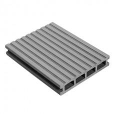 MasterDeck Classic Вельвет широкий/узкий серый 3000х140х26 мм