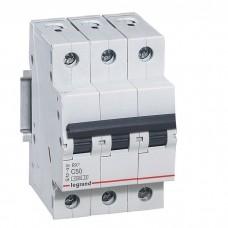 Автоматический выключатель Legrand RX3 419713 3P C 50A 4,5 кА