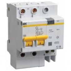 Автоматический выключатель дифференциального тока IEK АД12 2Р 20А 30мА