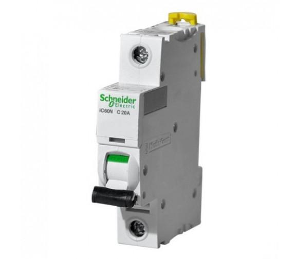Автоматический выключатель Schneider Electric Acti9 iC60N 1п C 20А 6кА