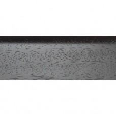 Плинтус шпонированный DL Profiles S8 Венге Натур темный 2400х75х16 мм