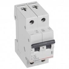 Автоматический выключатель Legrand RX3 419694 2P C 6A 4,5 кА
