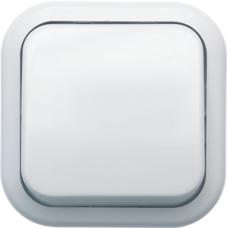 Выключатель Кунцево-Электро Валентина А16-038  одноклавишный белый