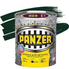 Panzer молотковая зеленая 0,25 л