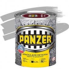 Panzer гладкая серебристая 0,25 л