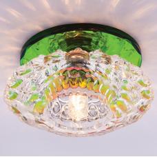 Светильник точечный встраиваемый Italmac Bohemia 220 10 72 G9 мультиколор 40 Вт