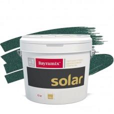 Покрытие декоративное Bayramix Solar S211 бирюзовое 15 кг