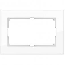 Рамка для двойной розетки Werkel Favorit WL01-Frame-01-DBL белая
