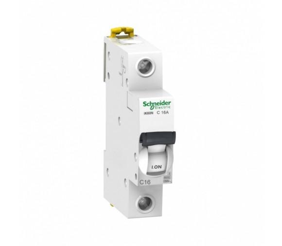 Автоматический выключатель Schneider Electric Acti9 iK60 1п C 16А 6кА