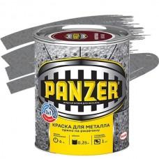 Panzer молотковая серебристо-серая 0,25 л