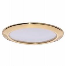 Светильник светодиодный встраиваемый Italmac Montana LED 53 08 04 золото 8 Вт