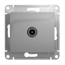 Механизм TV розетки Schneider Electric Glossa GSL000392 проходной одноместный алюминий