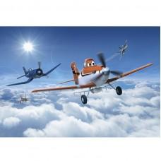 Фотообои бумажные Komar Planes Above the Clouds 8-465 3,68x2,54 м