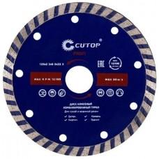 Диск алмазный турбо Cutop Profi 61-12523 125x22,2 мм