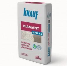 Knauf Диамант Шуба 1,5 мм белая 25 кг