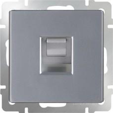 Механизм розетки компьютерной Werkel Ethernet WL06-RJ-45 серебряный