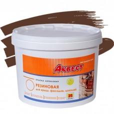 Аквест-25 для крыш и фасадов шоколадная 2,4 кг