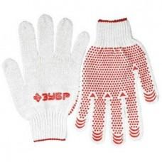 Перчатки Зубр Мастер 11456-XL трикотажные противоскользящие