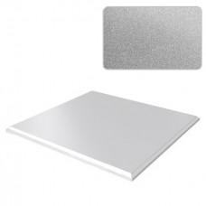 Потолок кассетный Cesal Металлик Серебристый С02 300x300 мм