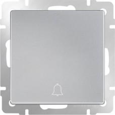 Кнопка звонка Werkel WL06-04-01 серебряная
