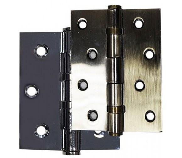 2 шт/уп, Петля двер. универс. 100х75х2,5мм, никель