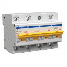 Автоматический выключатель IEK ВА47-100 4Р 100А С
