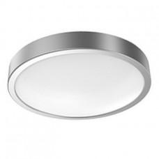 Gauss круглый серебро LED IP20 12W 4100К