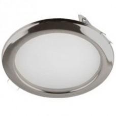 Светильник светодиодный встраиваемый Italmac Montana LED 53 10 08 черный хром 10 Вт