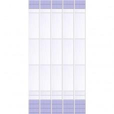 Стеновая панель ПВХ Кронапласт Unique Ирис фоновая 2700х250 мм