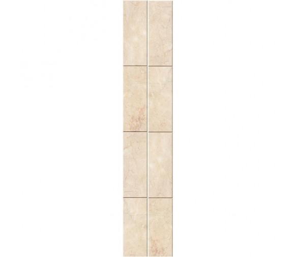 Стеновая панель ПВХ Кронапласт Unique Натуральный мрамор бежевый 2700х250 мм