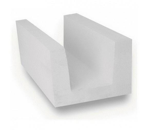 U-образный блок из ячеистого бетона Ytong D500 B 3,5 500х250х300 мм