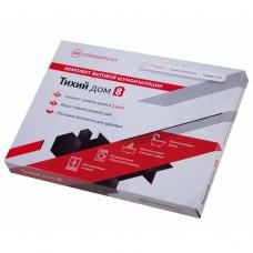 Звукоизоляция для отливов, раковин, ванн и поддонов StP Тихий дом 183х250 мм 8 листов в упаковке
