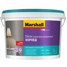 Штукатурка акриловая декоративная Marshall Decor Короед 2 мм 15 кг