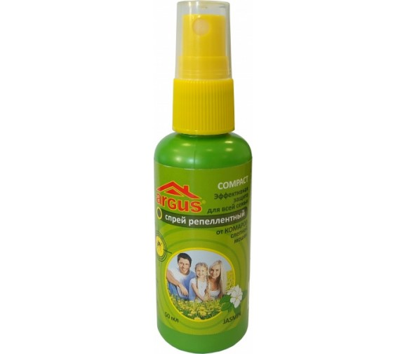ARGUS лосьон-спрей от комаров 50мл