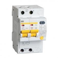 Автоматический выключатель дифференциального тока IEK АД12 2Р 6А 10мА