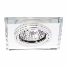 Светильник точечный встраиваемый Italmac Bohemia 51 20 70 MR16 прозрачный 50 Вт