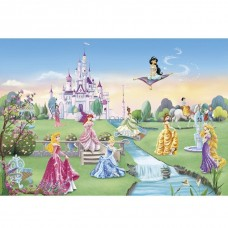 Фотообои бумажные Komar Princess Castle 8-414 3,68x2,54 м