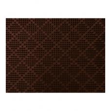 Покрытие щетинистое Baltturf Ромб 237 темный шоколад 0,9x15 м