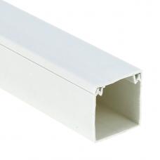 Кабель-канал EKF-Plast Proxima 40х40 мм с двойным замком белый
