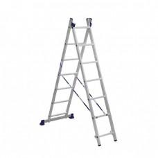 Лестница двухсекционная Алюмет 5207 2x7