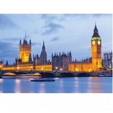 Фотообои виниловые на флизелиновой основе Decocode Вестминстерский дворец 441-0197-WL 4х2,8 м