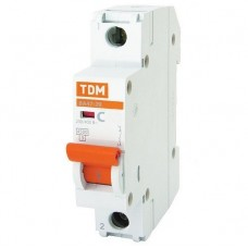 Автоматический выключатель TDM ВА47-29 SQ0206-0075 С 1P 20 A