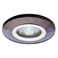 Светильник точечный встраиваемый Italmac Bohemia LED 51 7 71 MR16 с подсветкой черный 50 Вт
