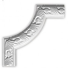 Угол декоративный для молдинга Decomaster 98102-2 240х240х22 мм