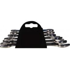 Набор ключей рожковых CS хромированных 6 шт. 6-17 мм