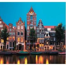 Фотообои виниловые на флизелиновой основе Decocode Амстердам 31-0278-WL 3х2,8 м