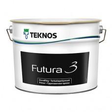Грунт-краска Teknos Futura 3 9 л