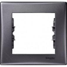 Рамка одноместная Schneider Electric Sedna SDN5800170 графит