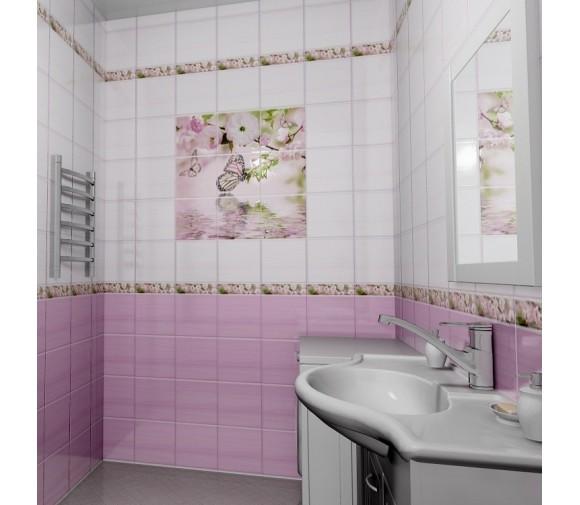 Стеновая панель ПВХ Novita фриз 3D Наваждение узор 2700x250 мм