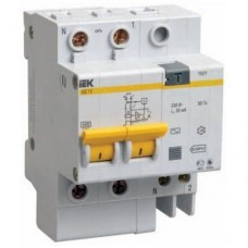 Автоматический выключатель дифференциального тока IEK АД12 2Р 50А 30мА
